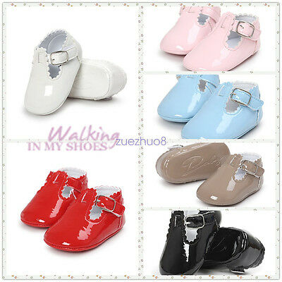 Infant Baby Boy Girl Soft Sole Crib Shoes Sneakers Size Newborn to 18 Months