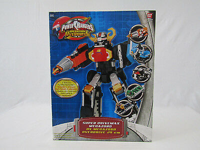 Super Drivemax Megazord DX (Power Rangers Operation Overdrive, Bandai, 2007) New