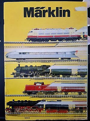 Marklin Vintage 1975 Magazine Catalogue Model Train Locomotive Carriage German