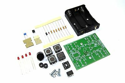 Velleman Brain Game Mini Kit MK112 Unsoldered DIY Simon Memory Flux Workshop