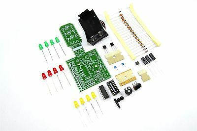 Velleman Traffic Light Mini Kit MK131 Unsoldered DIY Train Road Flux Workshop
