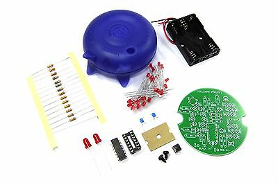 Velleman Animated LED Smiley Mini Kit MK134 DIY Unsoldered Flux Workshop