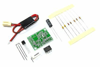 Velleman 12V Car Battery Monitor Mini Kit MK189 DIY Unsoldered Flux Workshop