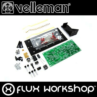 Velleman LED Chevron Arrow Mini Kit MK176 DIY Unsoldered Red Flux Workshop