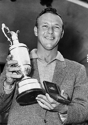 Arnold Palmer 01 Holding Claret Jug (Golf) (Golf)  Photo Prints And Mugs