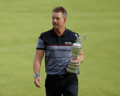 Henrik Stenson 04 Holding The Claret Jug (Golf)  Photo Prints And Mugs