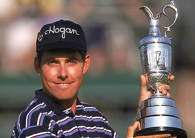 Justin Leonard 01 Holding The Claret Jug (Golf)  Photo Prints And Mugs