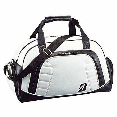 BRIDGESTONE Boston bag BBG520 WK White/Black L48×W24×H30cm