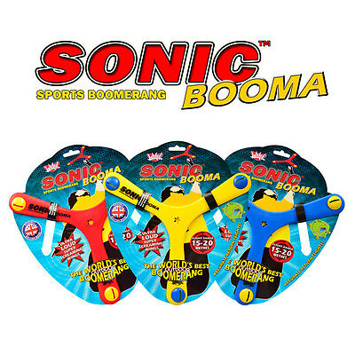 WICKED VISION SONIC BOOMA Foam Boomerang - Flight Range 15-20 Meters Return