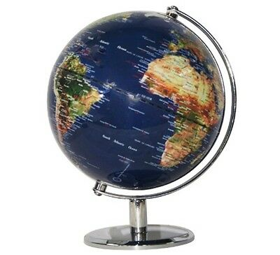 Satellite Image Politcal World Globe BlueTravel Wedding Gift Home Decor 30 42cm