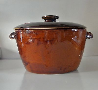 Vintage Old Hickory Cookware Duchess Pottery Cooking Pot - Very Nice