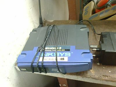 manual linksys wireless-g access point with ses