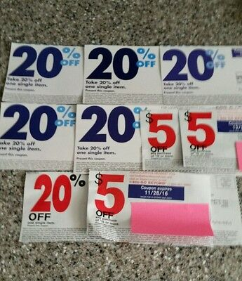 Bed bath beyond certificates 20% off and 5$ off