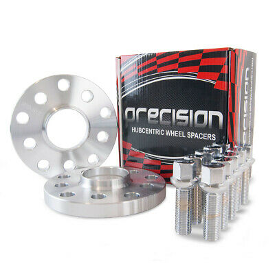 VW Golf MK4 1997-2004 ~ 2 Hubcentric 15mm Alloy Wheel Spacers With Radius Bolts