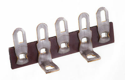 Solder Lug Bakelite Terminal Tag Strip -Style E 5 Tags (2 and 4 Earth)