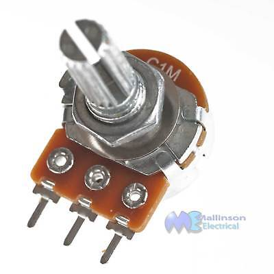 Alpha Potentiometer Reverse Audio Track C1M 16mm Variable Resistor