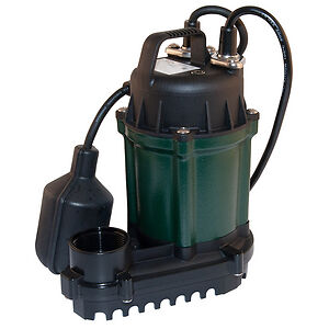Zoeller Z490005 115V 1Ph Wm49 Sump Pump, 1/4 hp