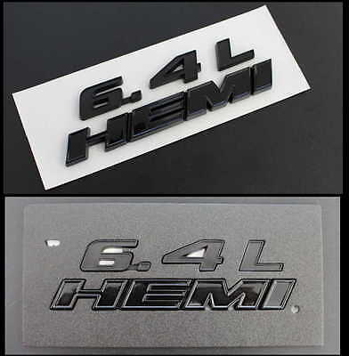 """"""" BlackEditionSerie """" 6.4L HEMI """" Emblem Jeep Grand Cherokee Charger Challenger"""