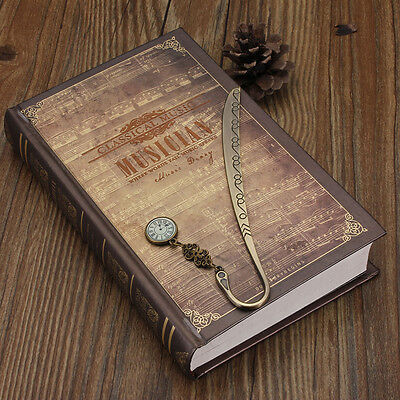 Retro Vintage Metal Alloy Bronze Bookmark Document Book Mark Label DIY Gift New