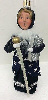 Byers Choice Caroler Ice Princess Queen With Scepter And Crown