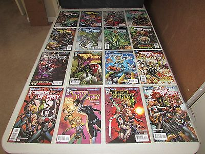 THE NEW 52 BIRDS OF PREY  #1 - 34  (Complete Series)