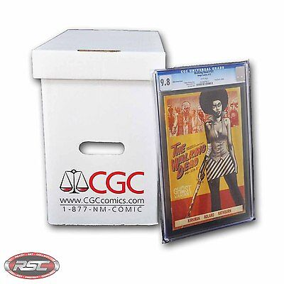 CGC GRADED COMIC BOX By GERBER! Official Authorized! Case of 5 Boxes!