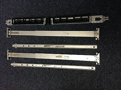 HP DL380 G6 & G7 Rail Kit. 487259-001, 487610-001 (Inner, Outer & Cable Mgmt).