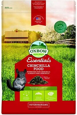 Oxbow Essentials Natural Chinchilla Nutritionally Complete Food 10Lbs