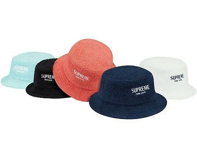 3765f1545c612 SUPREME MULTICOLOR DENIM Crusher M L box logo camp cap tnf S S 18 ...