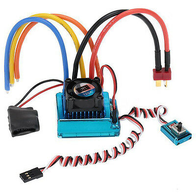 120A Sensored Brushless Speed Controller ESC for RC 1/8 1/10 1/12 Car Crawl M8A3