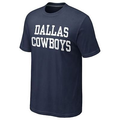 5580ad8028a6 Dallas Cowboys Mens Coaches T-Shirt - Large Medium Small - NFL Licensed