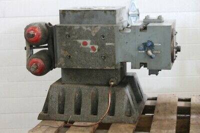 """Hydraulic vertical vibration shaker, exciter, 5"""" stroke, 30k lbs, MB"""