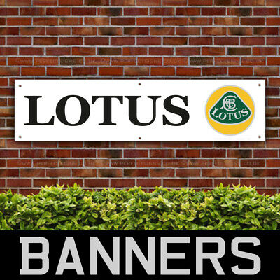 Lotus Car PVC Banner Garage Workshop Sign (BANPN00057)