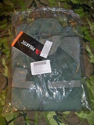 New US Army Medium/Long Foliage Green Polartec Fleece Jacket ECWCS M/L