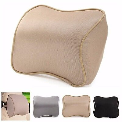 Memory Foam Office Car Seat Head Neck Rest Cushion Pillow Support Headrest Pad