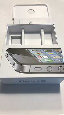 APPLE iPhone 4S 16GB OEM EMPTY BOX TRAY INSERT MANUAL ONLY iPhone NOT INCLUDED