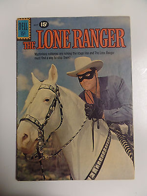 Dell Comics The Lone Ranger # 139 Apr - May 1961 Vintage Western Comic Book VG+