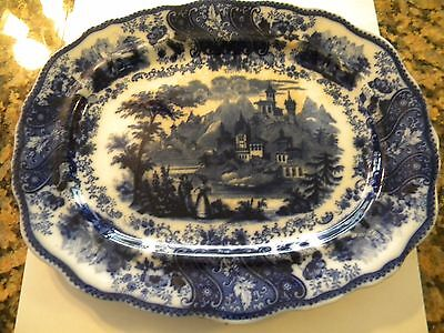 Middleport Pottery England 1900 Platter By Burgess & Leigh-Non Parell Pattern