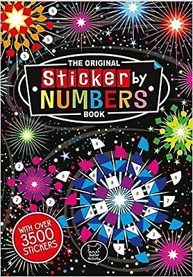 The Original Sticker by Numbers Book (Sticker Activity), New, Webster, Joanna Bo