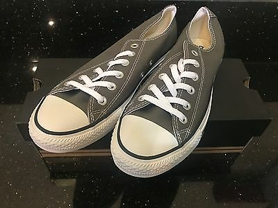 Converse All Star Chuck Taylor Charcoal Gray Men 8 Women 10 Shoes Brand New