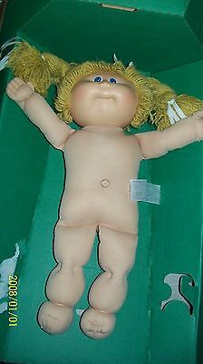 CABBAGE PATCH KIDS DOLL coleco butterscotch HAIR  0000