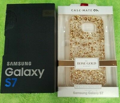 In OEM Box Samsung S7 SM-G930 32GB Gold GSM Unlocked (T-Mobile). Excellent