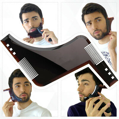 New RevoBeard Beard Styling Grooming Trimmer Template Shaping Tool For Men