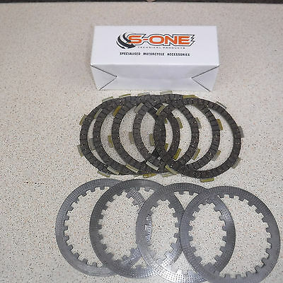 Full Clutch Kit For Honda Clr125 W City Fly Heavy Duty Friction Plates + Steels