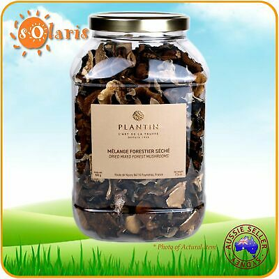 Authentic French PLANTIN Dried Mixed Forest Mushrooms 500g