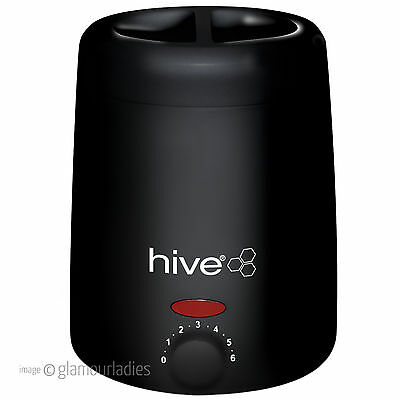 HIVE OF BEAUTY Neos 200cc Compact Portable Professional Black Wax Heater