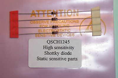 HP QSCH1245 = HP5082-2835 Schottky high Sensitivity Detector Qty 4 NOS HP parts