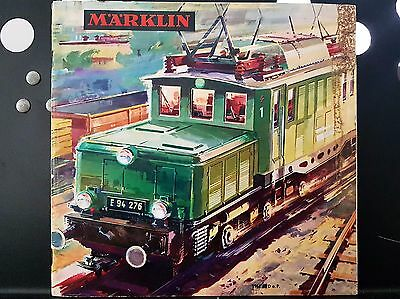 Marklin Vintage 1964 Magazine Catalogue Model Train Locomotive Carriage German