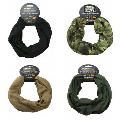 Kombat Uk Tactical Snood Multi Use Headwear Scarf Military Airsoft Bushcraft