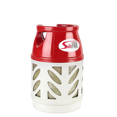 SAFEFILL Medium 7.5KG Cylinder Gas Bottle